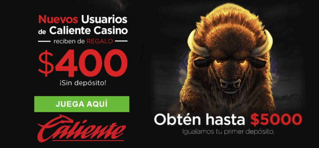 Un de los mejores casinos en linea Mexico es caliente casino